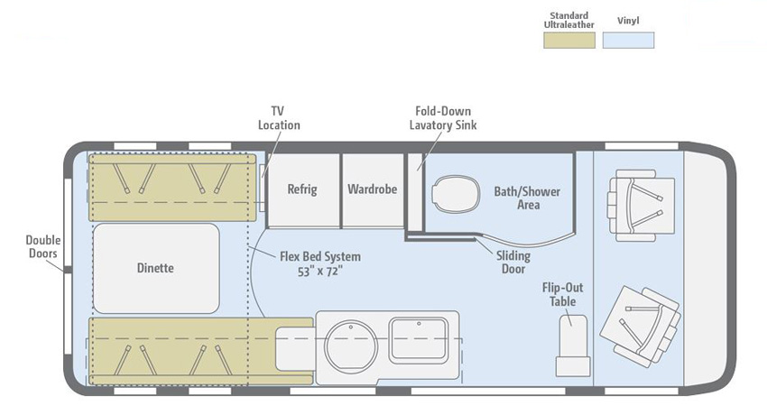 Paseo Floorplan