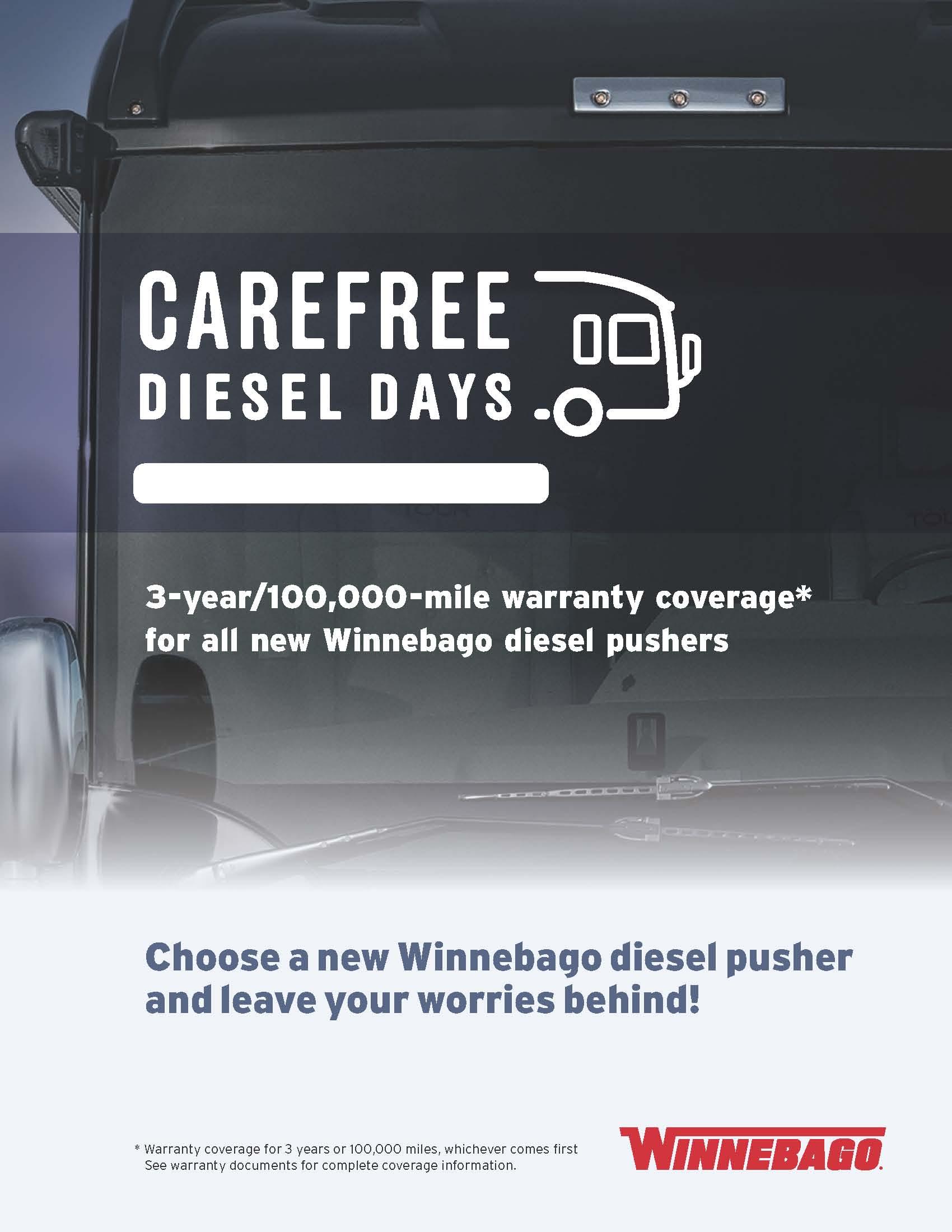 Class A diesel warranty