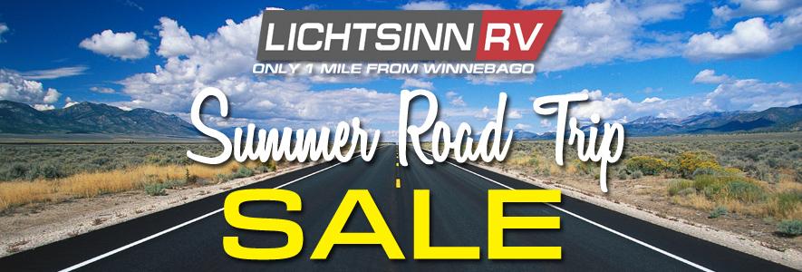 Lichtsinn RV Summer Road Trip Sale