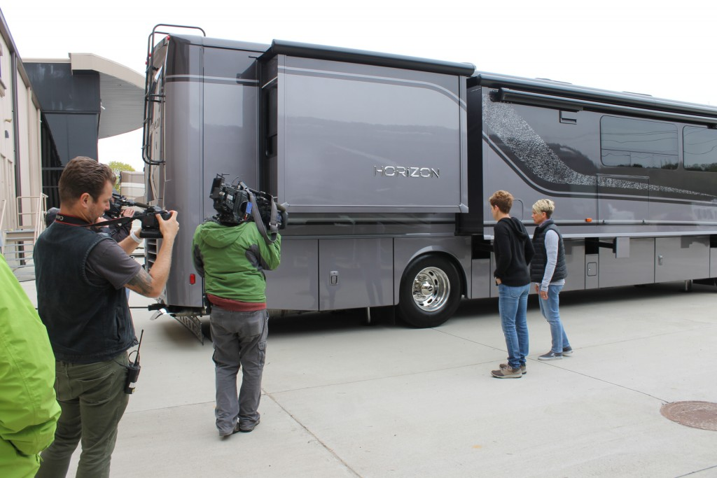 Ann and Lin Check Out the Winnebago Horizon. Will the Horizon be the Perfect Home for Them?