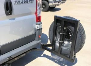 Aluminess Tire Rack