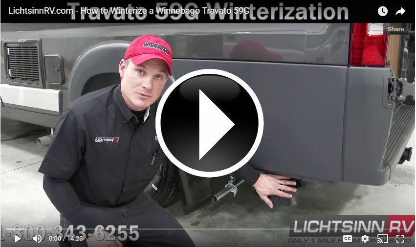 Winterize Travato 59G