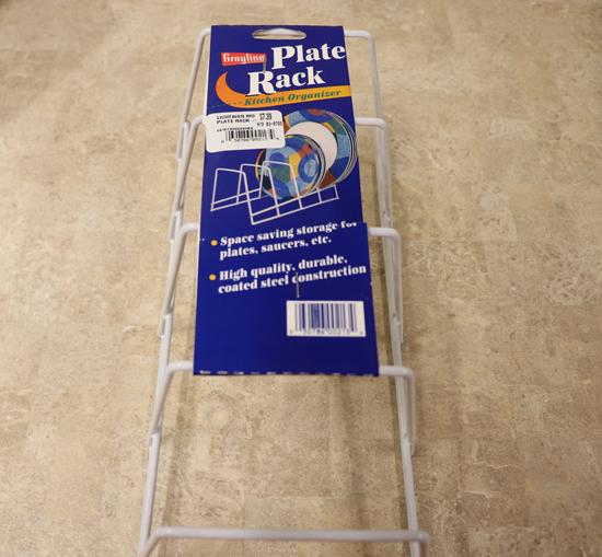 Plate Rack Kitchen Organizer
