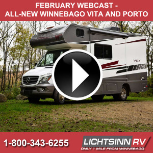 February Webcast on the Winnebago Vita and Porto