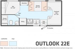 Winnebago Outlook 22E