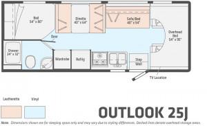 Winnebago Outlook 25J