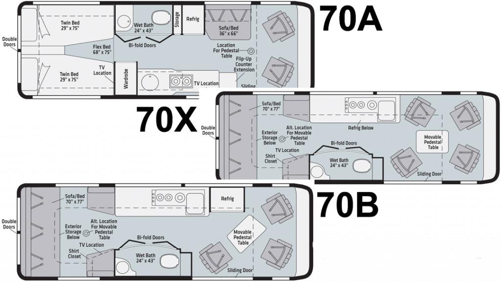 Winnebago Era Floorplans