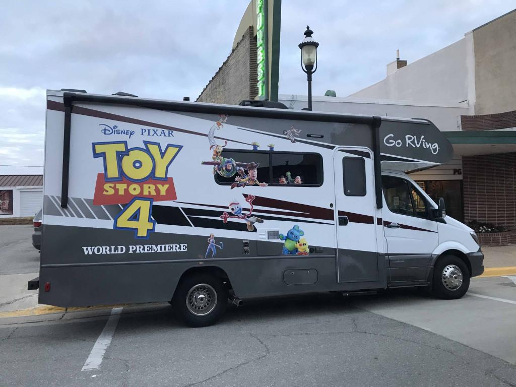 Toy Story 4 Themed Winnebago