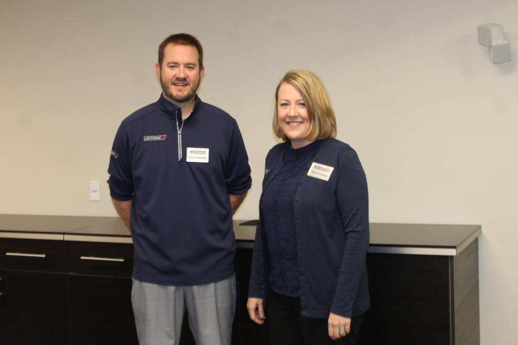 Reed Burkholder and Heidi Thompson