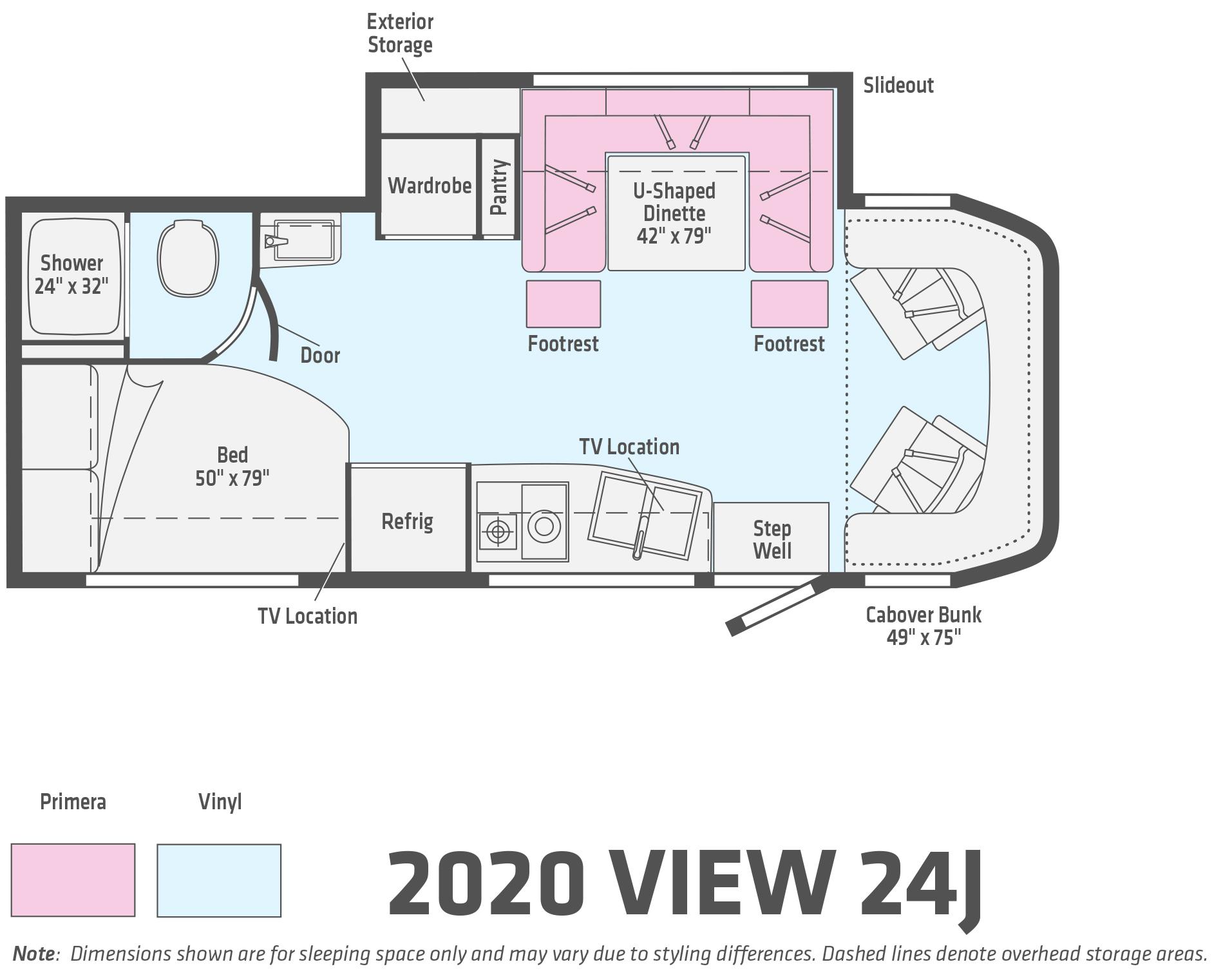 2020 Winnebago View Floorplan Overview Lichtsinn Rv Blog