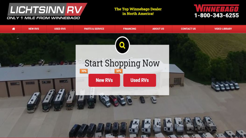 Buying an RV Online