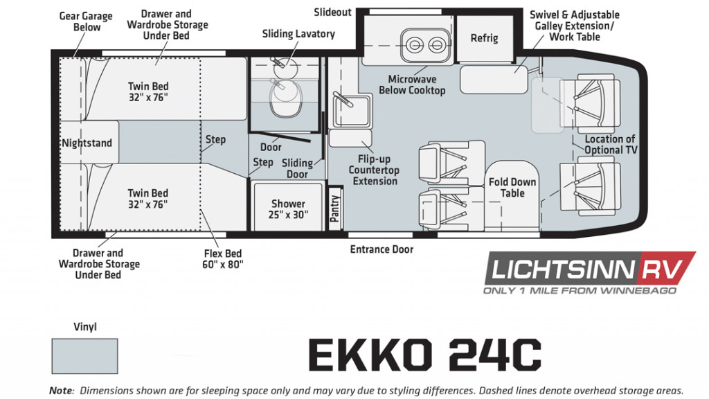 Ekko 24C Floorplan
