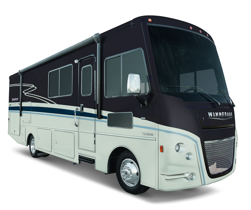 Winnebago Adventurer in Nighshade
