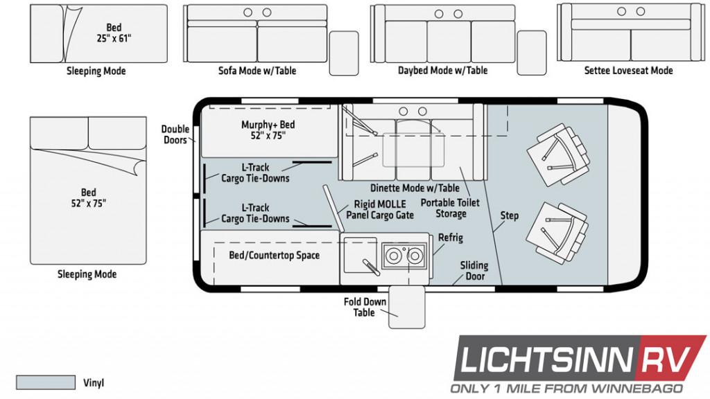 Winnebago Solis Pocket 36A Floorplan
