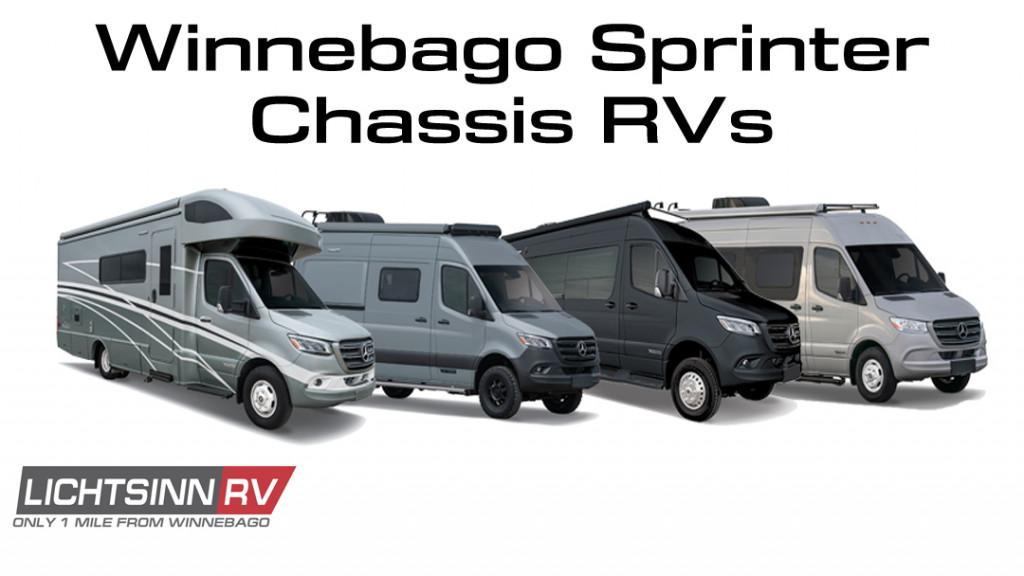 Winnebago Mercedes Benz Sprinter Chassis RVs
