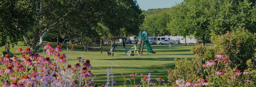 Pammel Park (Photo Courtesy Forest City Chamber of Commerce)