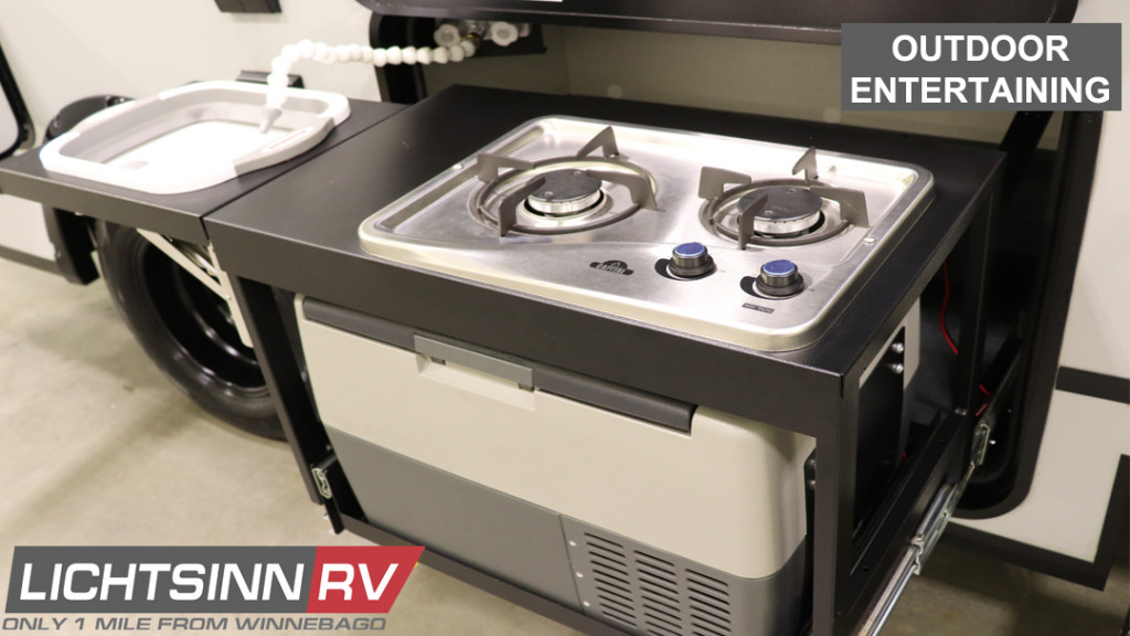 Winnebago Class B and C RVs for Outdoor Entertaining