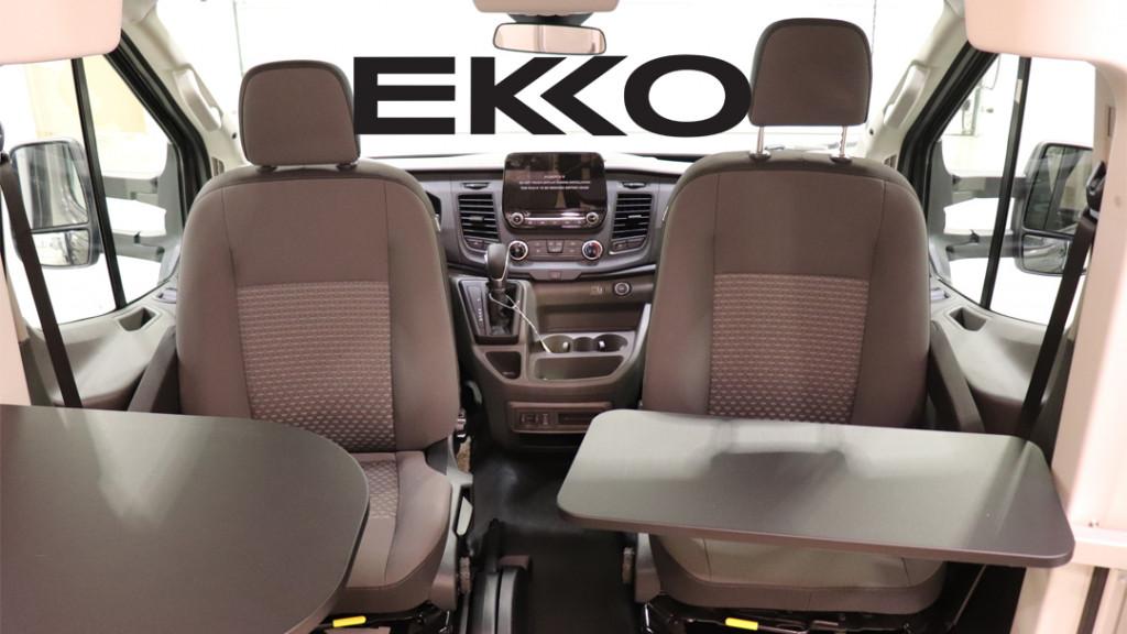 Winnebago EKKO Cab Area