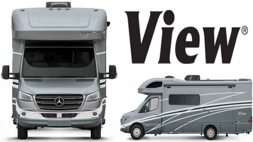 Winnebago View and Navion on Mercedes Sprinter Chassis