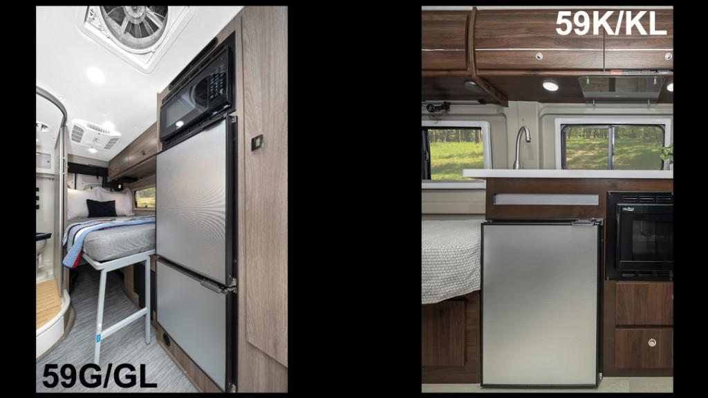 Winnebago Travato Compressor-Driven Refrigerator